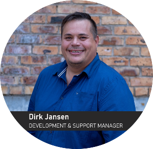 Dirk Jansen - Development & Support Manager  of Sunstone Logistic Systems