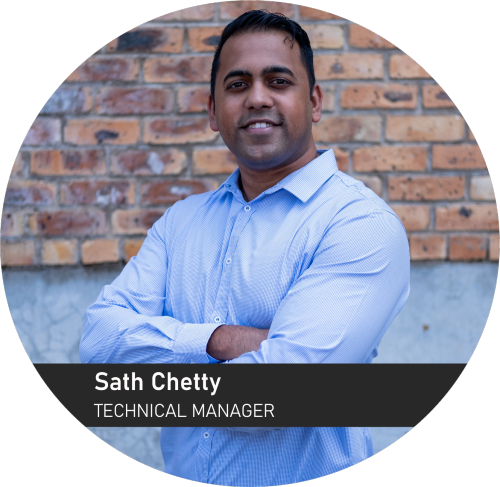 Sathianathan Chetty - Technical Manager for Sunstone Logistic Systems